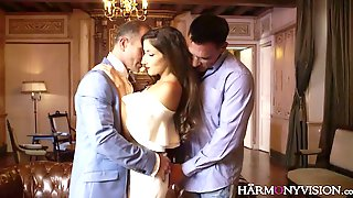 Graceful French Babe Clea Gaultier Gets Double Penetrated