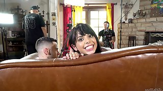 Behind The Scenes With Lusty Nina Elle, Gina Valentina And Seth Gamble