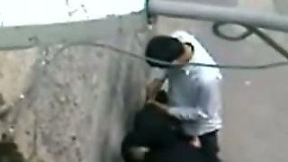Arab Whore Wife Cheats Her Husband In The Street. Hidden Cam