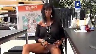 Incredible Homemade Movie With Public, Solo Scenes