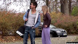 Sexdriven Young Slut Tracy Invites Her Date Into Her Pink Girly Bedroom