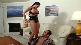Free mature sex stocking video woman