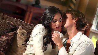 Adrianna Luna Enjoys Deep And Intense Intimate Fuck With Her Lover