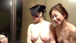 Mature Japanese Women Enjoy A Hot Lesbian Sex Game