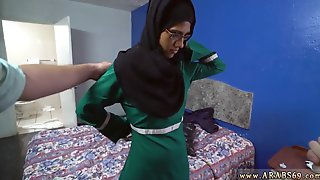 Blowjob Gloves And Handjob Cum In Mouth Desperate Arab Woman Fucks For Money