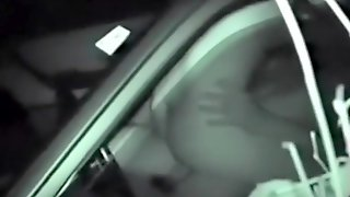 Spying On A Couple Fuck In The Car