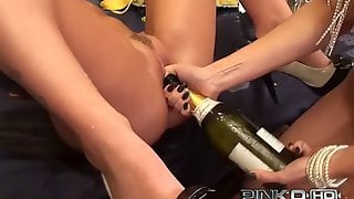Euro Hotties Give Dirty Lesbian Action