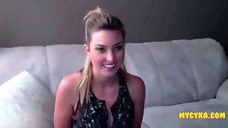 Cute Babe Talks Dirty Continue On MyCyka Com