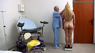 Gyno Exam Big Ass Blonde