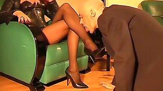 Best Amateur High Heels, Slave Porn Video
