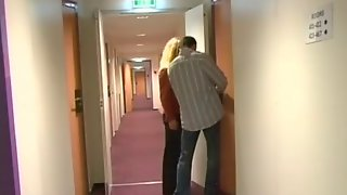 Anne Gets Laid On Hotel Bed
