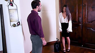 Luna Lovely Get Rough Spanked & Penetrated By Her Dominant Bf