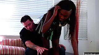 Armani Monae Knows That Her Professor  Has A Big Dick