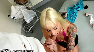 MyXXXPass Tatted Barbie Sucks Hobos Big Dick