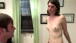 Hot Tranny Sex With A Gay Dude