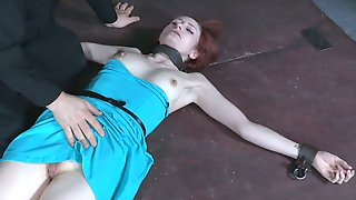 Lustful White Hottie Gonna Try Out To Be Submissive During BDSM Intercourse