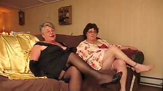 Fabulous Amateur Clip With Stockings, Grannies Scenes