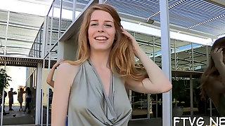 Blonde Exhibitionist