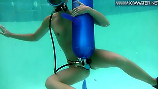 Did and scuba nude gear women was and