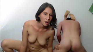 Best Homemade Threesome, Small Tits Sex Scene