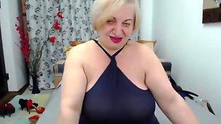 трахнул старую толстую блондинку - 13
