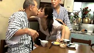 Busty Japanese Wife Seduces Older Men To Fulfill Her Needs