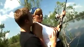 Norwegian Milf Gets Fucked Hard Outdoors.