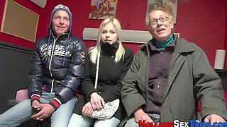Real Dutch Whore Rides Amateur Film 2