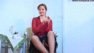 Blonde Teen In Solo Striptease Fun