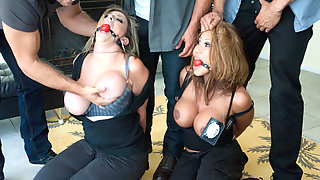 Ramon Nomar & Karlo Karrera & Toni Ribas & Sara Jay & Ava Devine In The Big Bust 2: Drug Lords Take Revenge - SexAndSubmission