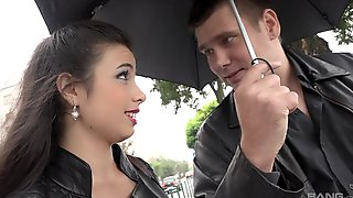 Big Load Of Black Dick Disappears In Lovely Girl Mira Cuckold