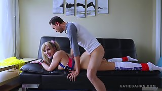 Cheerleader Hot Wife Lets You Watch