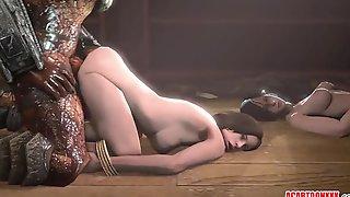 Sexy Brunette Helena Harper Takes Big Dicks In Gangbangs