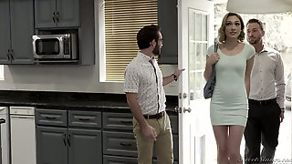 The Evening Goes Well With Such A Cock Hungry Sexpot Lily Labeau