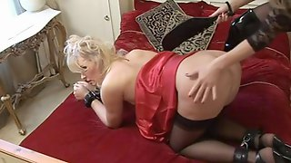 Horny Crossdressers Have Group Sex In Lingerie And Make Up