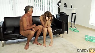 DADDY4K. Sex With Her Boyfriends Father After Swimming