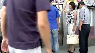 Hot Asian MILF Gets Groped In Public And Fucked Hardcore