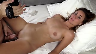 Pretty Amateur In His Hotel Room Is Eager For Cock