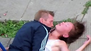 RUSSIAN AMATEUR FUCKING OUTDOOR