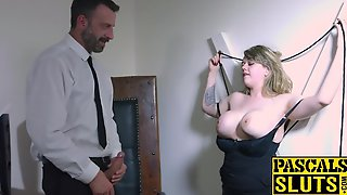 Madison Stewarts Cum Crawing Satified By A Dominative Stud