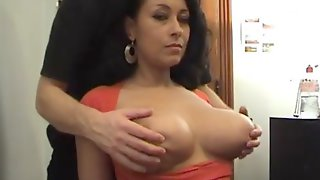 Mamacitas Fun-bags Getting Groped And Toyed With
