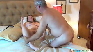 Fatty Wife Wants To Get Fucked In A Couple Of Different Positions.
