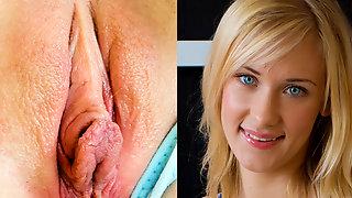 Blondes Fickstueck Wird Hart Und Tief Durchgefickt