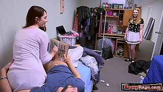 Steamy Porn Star Making Out With Cumshot
