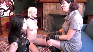 Sadie Lune And Her Friend Like When They Get Dominated By A Mistress