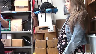 Beautiful Gal Kimmy Granger Is Punished By One Kinky Dude In The Back Room