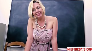 Big Boobs MILF Point-of-view With Money Shot