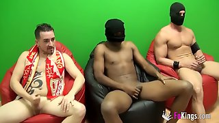 Two Hotties Get Copulated By Black And White Cocks