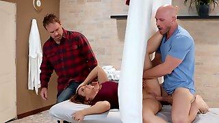 Busty Bombshell Natasha Nice Gets A Special Massage