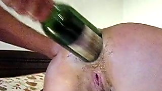Amateur Wife Extreme Anal Punch Fisting And Bottle Fucking